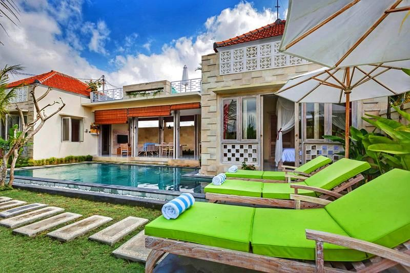 A 2 Bedroom Villa With Airbnb Plus Listing Status In Penestanan Villa Ubud Bali