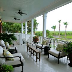 traditional porch by Alix Bragg Interior Design