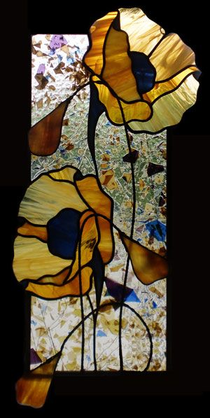 Teresa Seaton Stained Glass Gallery Florals