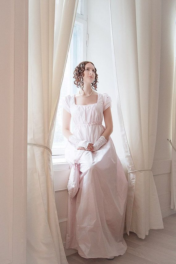 Regency gown wedding dress Pride and Prejudice Jane Austen | Regency ...