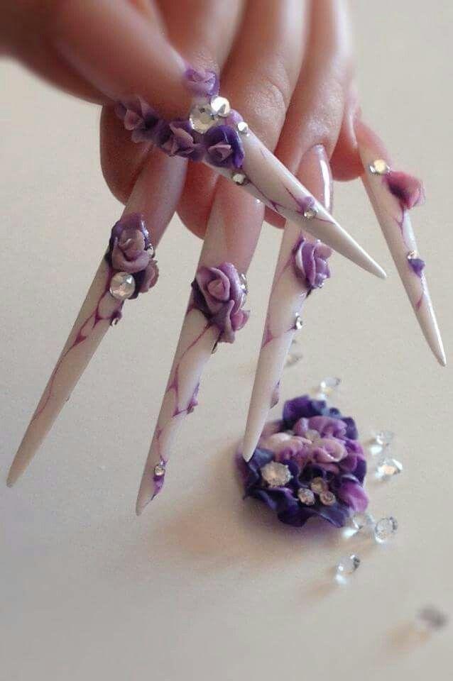 White nail | Nail | Pinterest | White nails, Crazy nail art and ...
