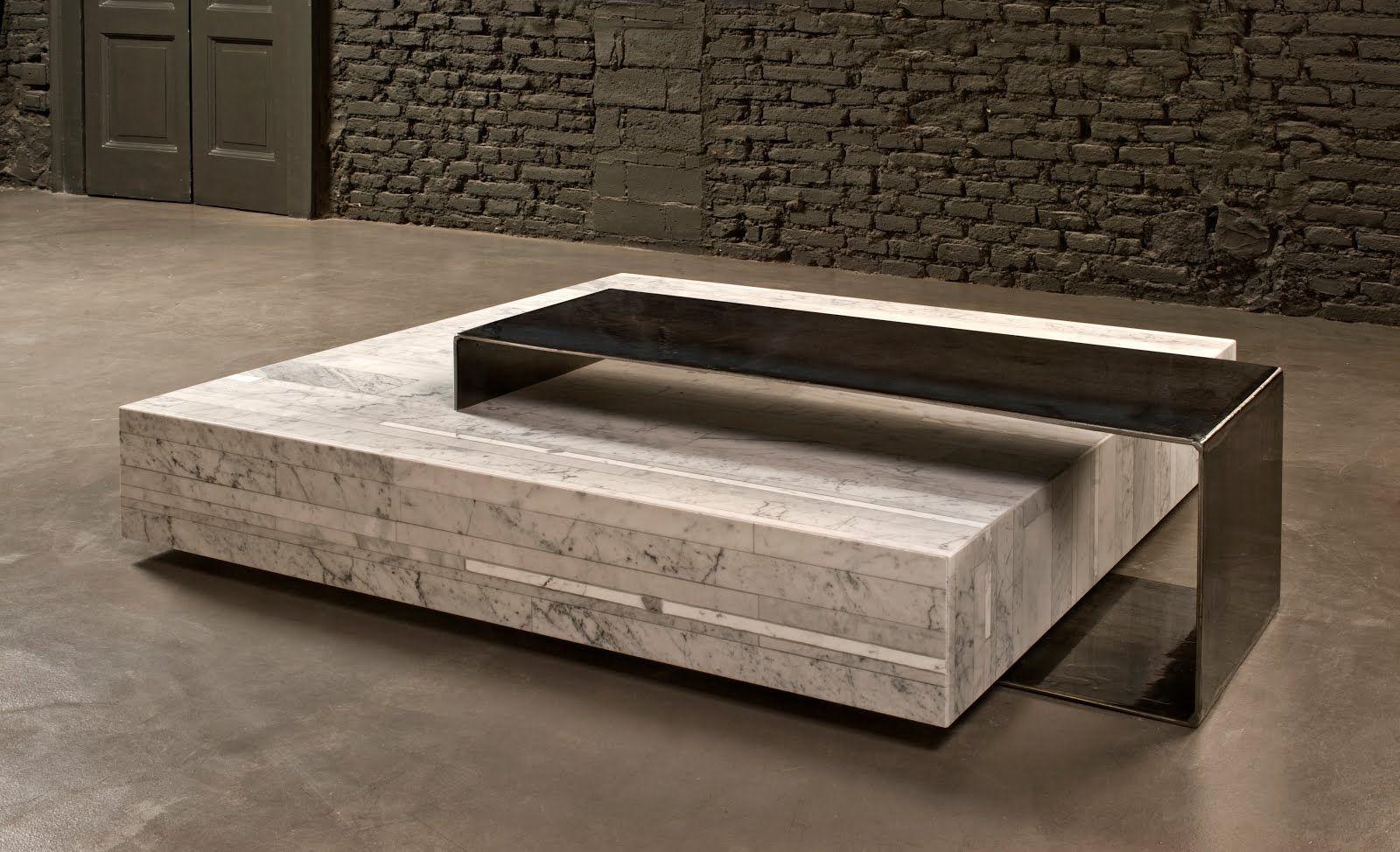 Taberna Laredo Gessato Coffee Table Design Marble Coffee Table Stone Coffee Table [ 974 x 1600 Pixel ]