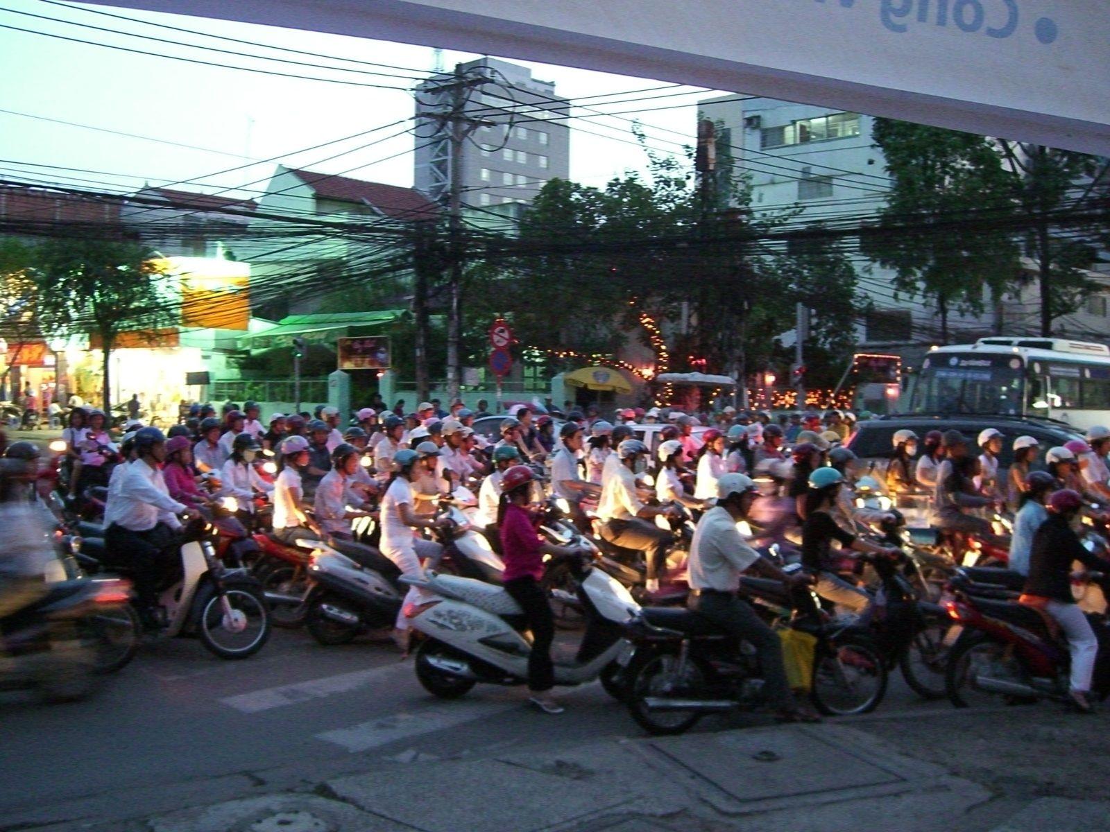 Ho Chi Minh City, Vietnam A vivre au moins une fois dans sa vie de cycliste !
