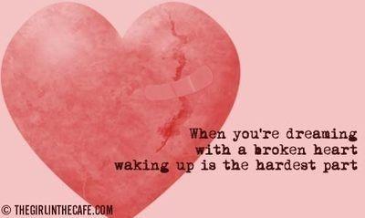 advice, angst, broken heart, dreaming, future, healing