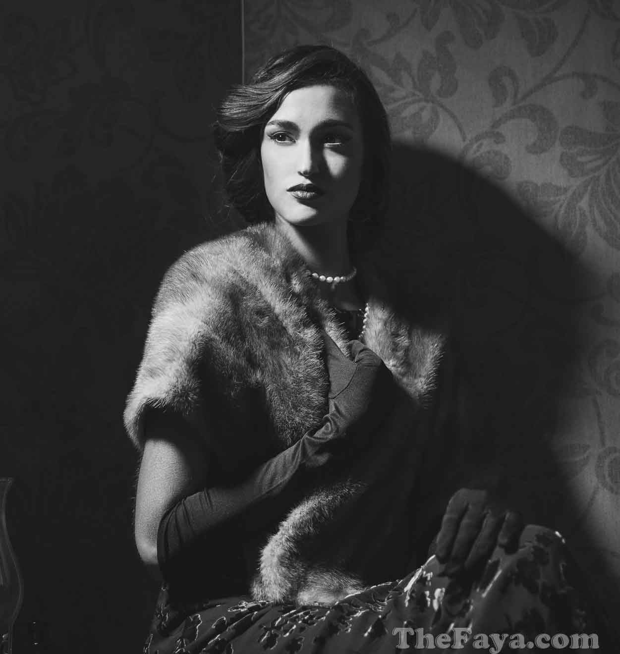 film noir femme fatale fashion - Google Search   ROSA SILVA ...