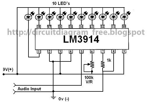 Remarkable Simple Vu Meter Schematic Basic Electronics Wiring Diagram Wiring Cloud Hisonuggs Outletorg