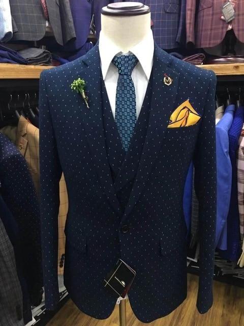 Three Piece Suit New Coat Pant Design 2019