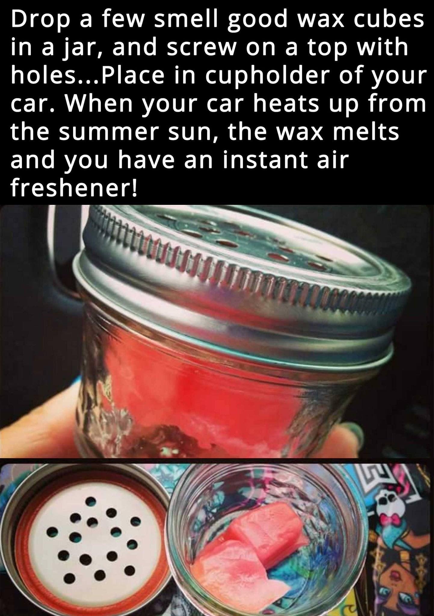 Car wax cubes Diy life hacks, Cleaning hacks, Smell good