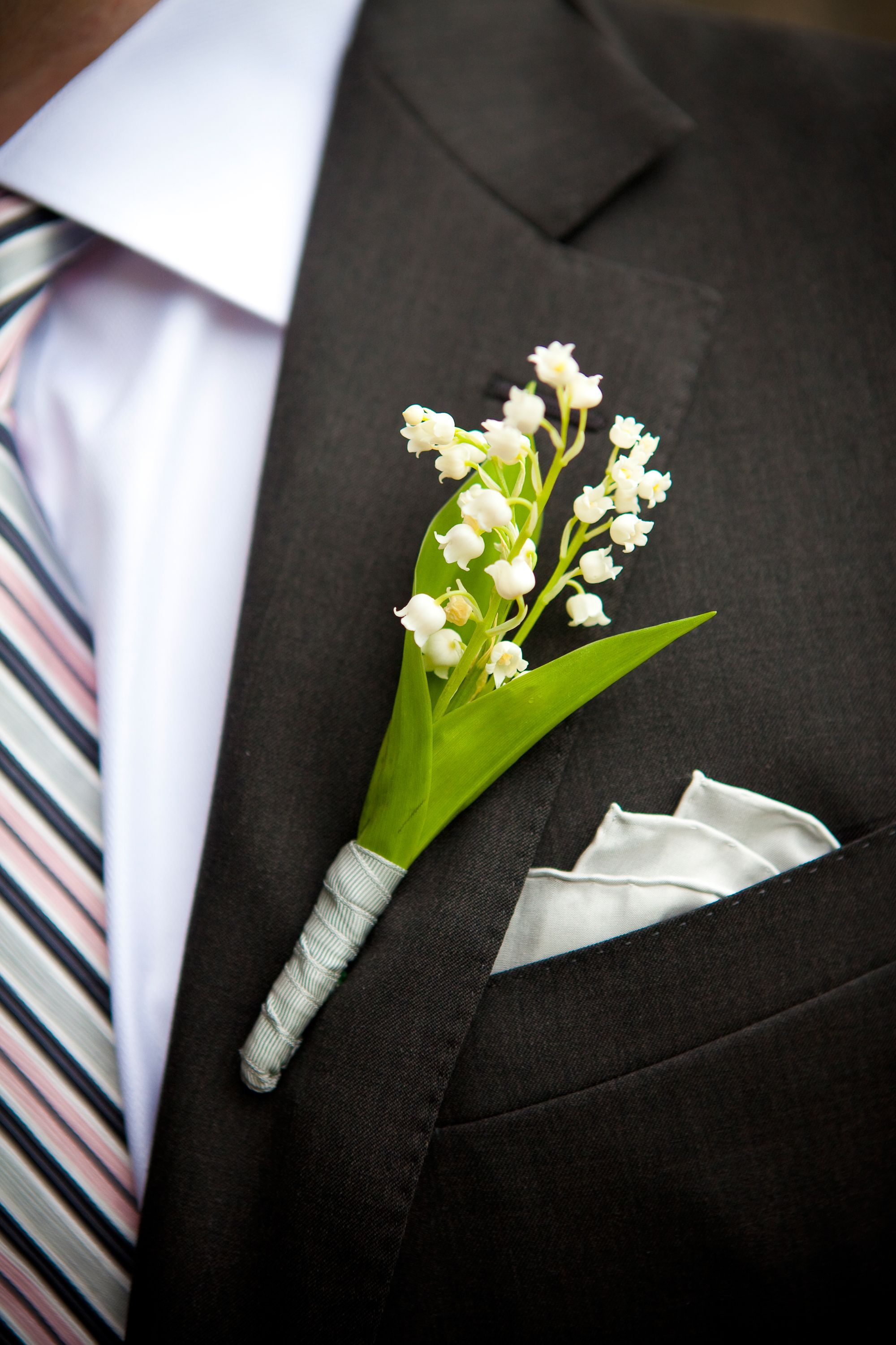 Lily of the valley boutonniere kathi littwin photography theknot lily of the valley boutonniere kathi littwin photography theknot izmirmasajfo