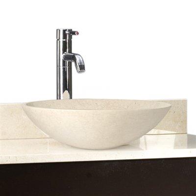 D\u0027Vontz Bathroom Sink Sphere Natural Stone Vessel Sink vanity