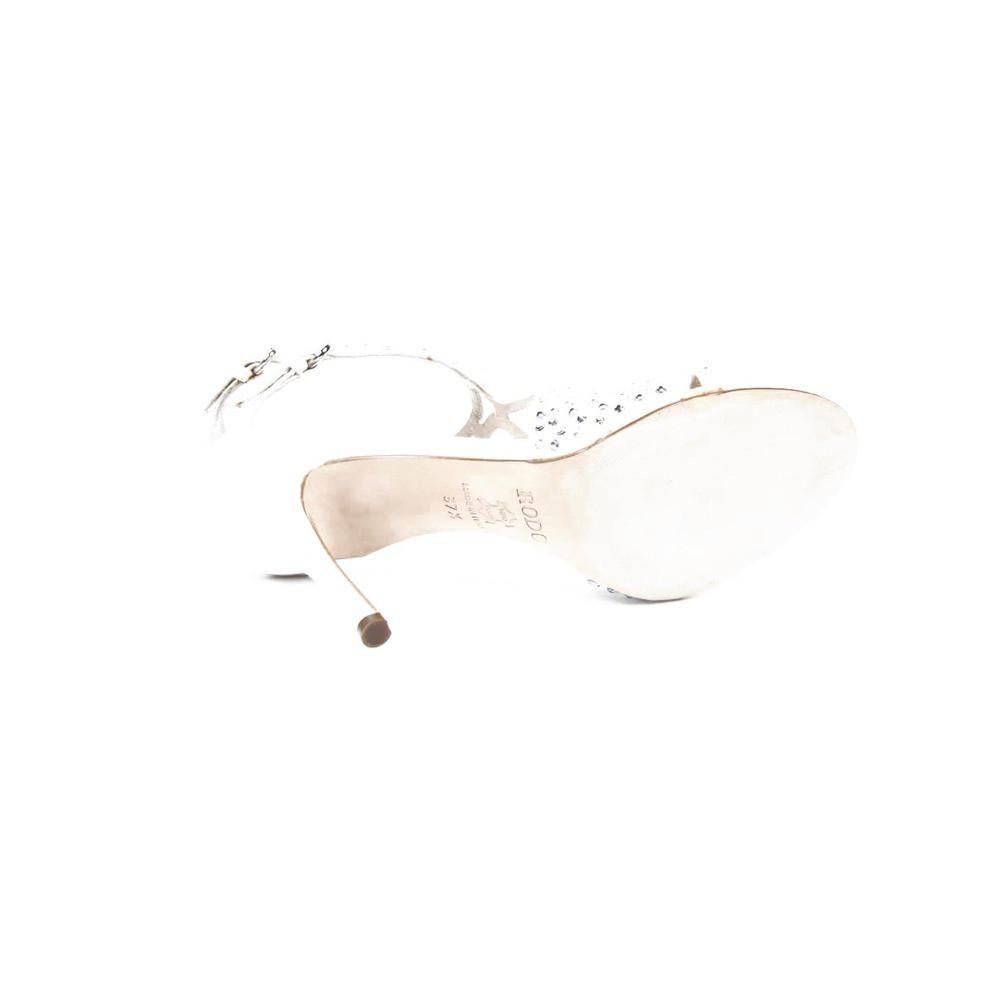 White eur us rodo ladies sandal s size