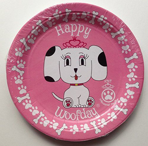 Princess Kiki Girl Puppy Paper Plates Kiki and Jojo LLC //. & Princess Kiki Girl Puppy Paper Plates Kiki and Jojo LLC http://www ...
