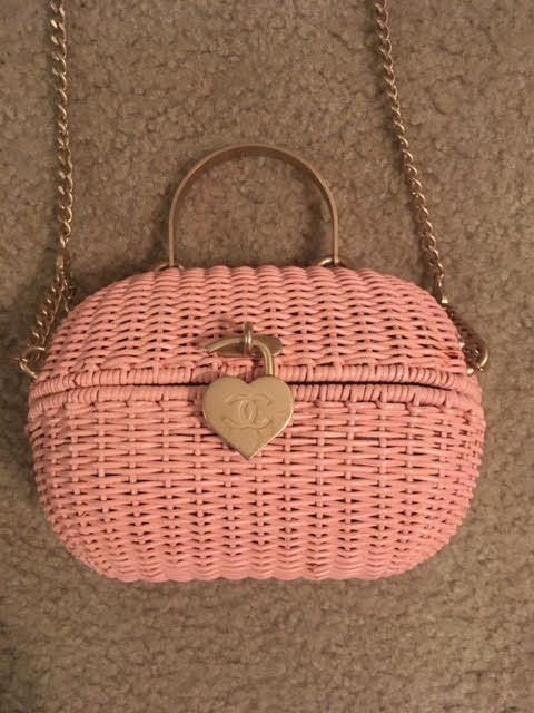 Chanel Wicker Love Basket Bag- Vintage Rare in 2018   bags ... 78c881c286a
