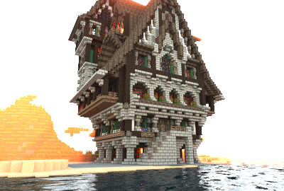 Medieval Town House Creation 3313 Minecraft Medieval Minecraft Medieval House Minecraft Medieval Castle