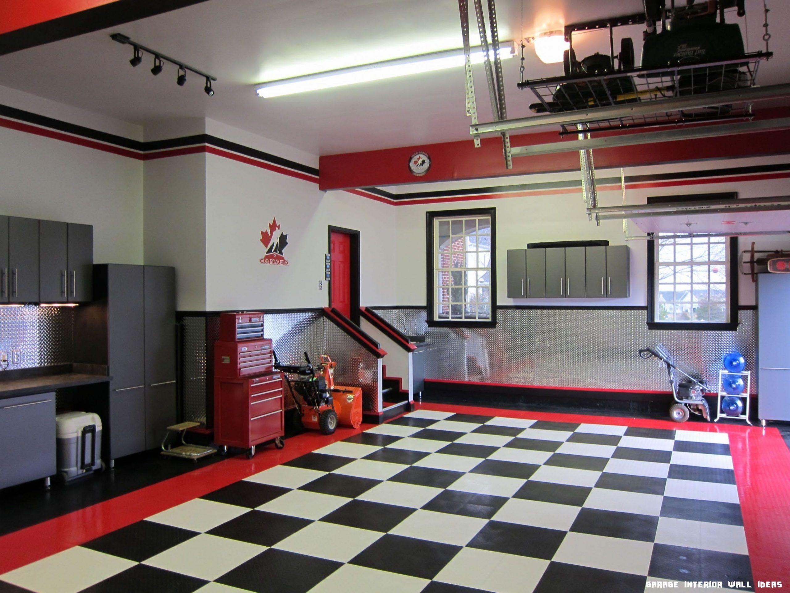 14 Garage Interior Wall Ideas In 2020 Garage Design Interior Garage Design Garage Interior