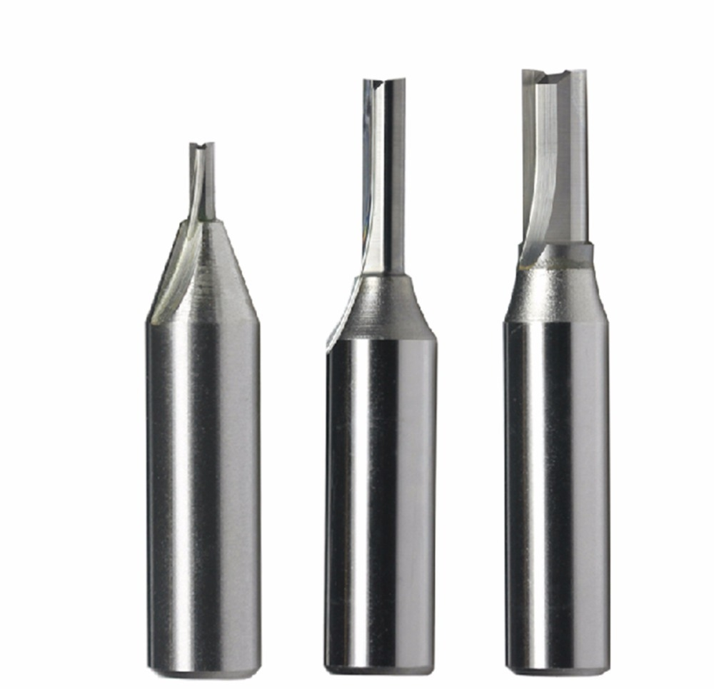"""24.32$  Watch here - http://alijse.shopchina.info/go.php?t=32353783469 - """"1/2"""""""" TCT Tungsten Carbide Double Two Straight Flute Router Cutter Bit 4*28mm""""  #aliexpress"""