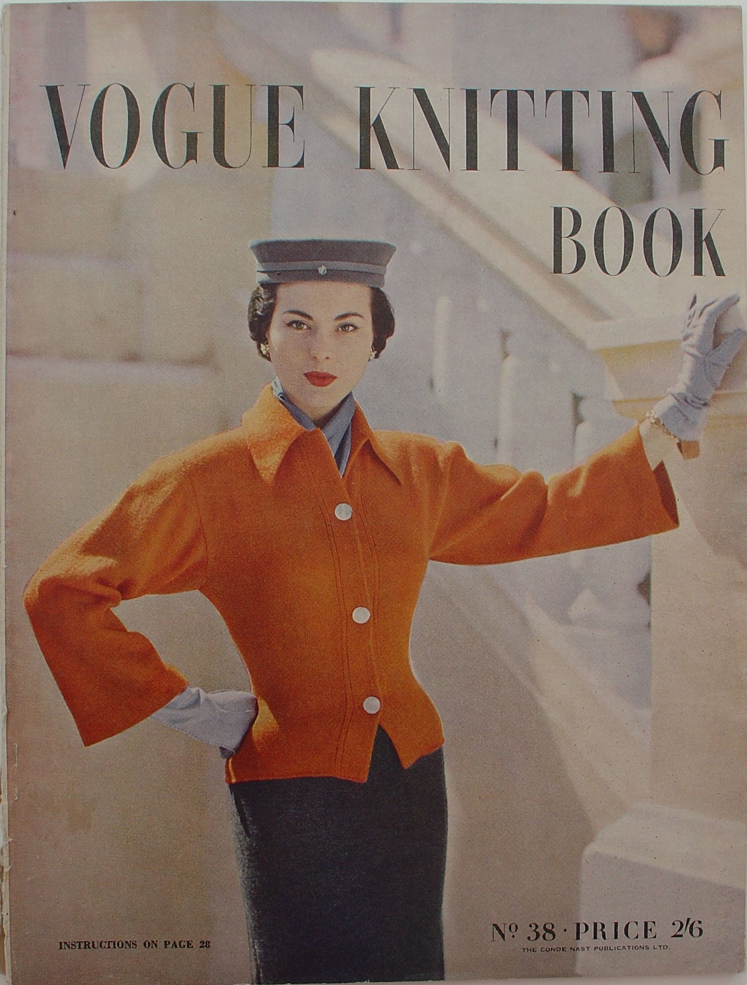 Chic 1950s Vogue pattern. | Sewing & Knitting Patterns | Pinterest ...