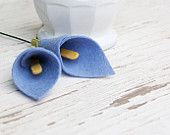 Felt Calla Lily - Flowers for the Home - Wedding Flowers