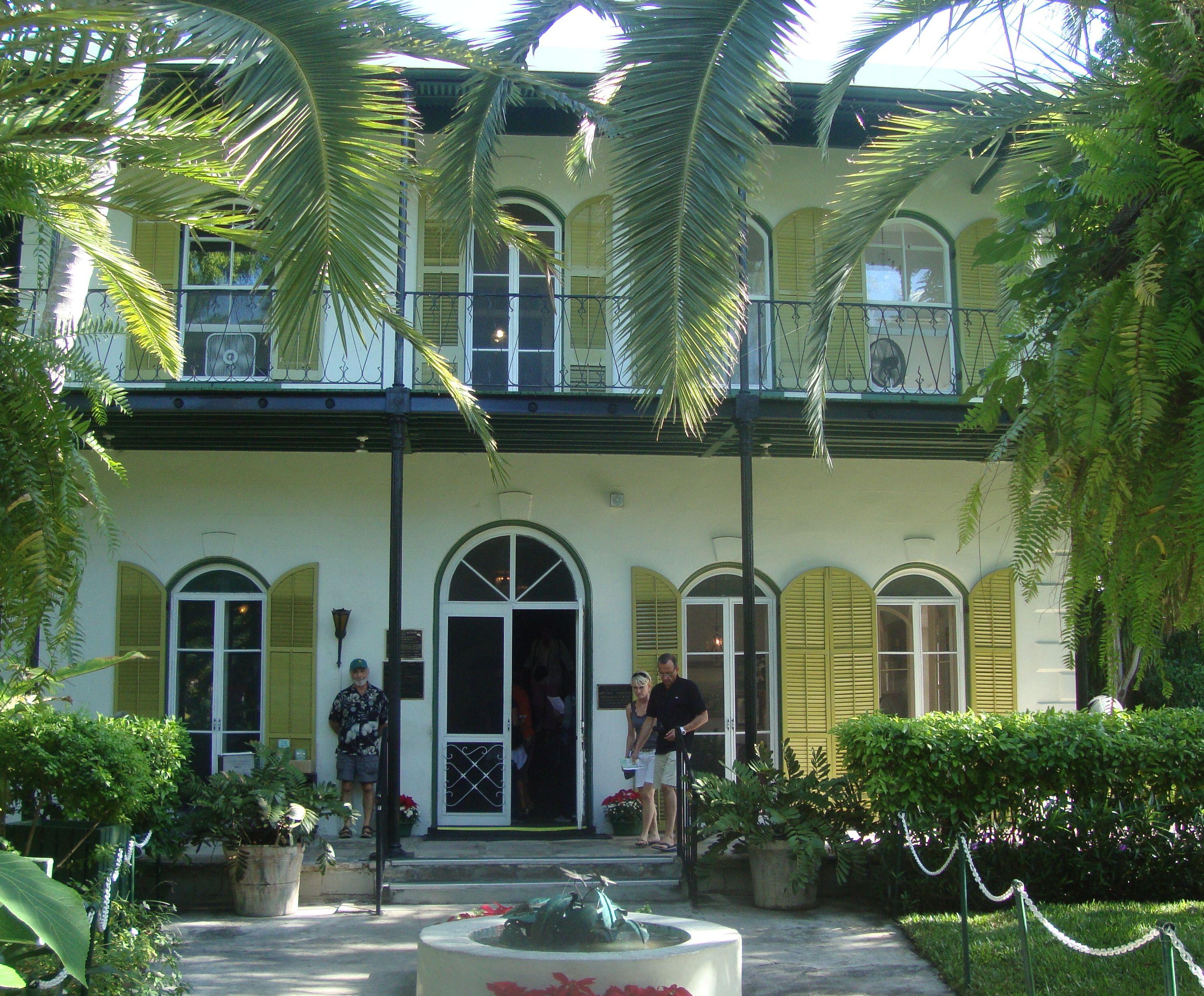 Ernest Hemingway House Key West Florida