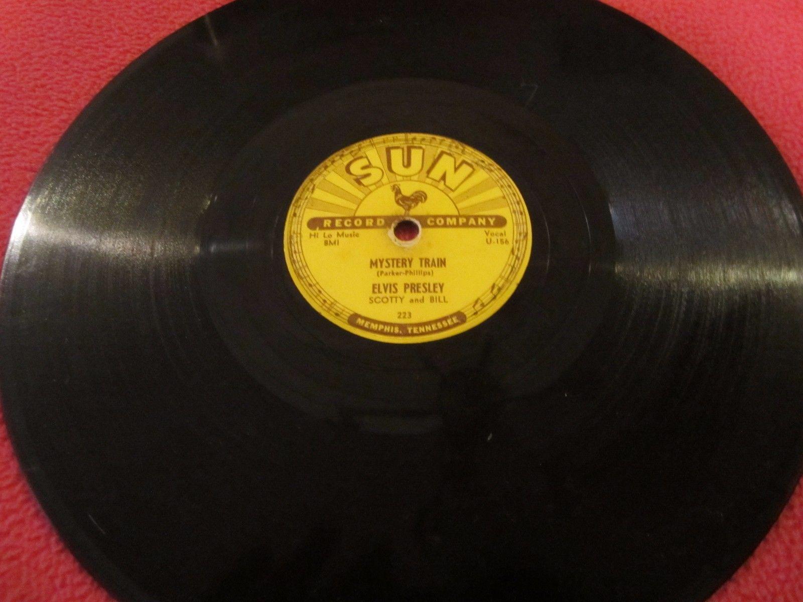 ELVIS PRESLEY 1955 ORIGINAL SUN 78 RECORD MATRIX # TRAIL OFF MYSTERY TRAIN NICE! https://t.co/84NiF4hD8t https://t.co/1Asg45mpZp