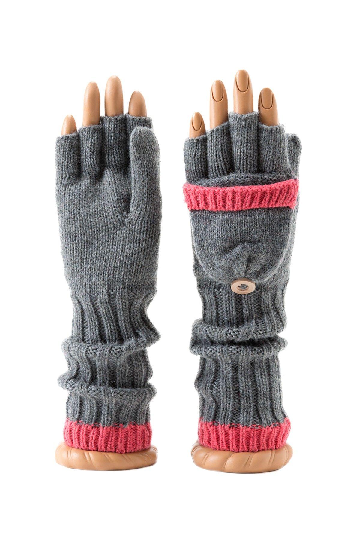 Ina Convertible Fingerless Gloves on HauteLook
