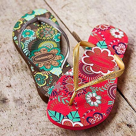 Havaianas Flip Flops. Smells like summer spirit!
