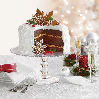White Cake Recipes Chocolate Gingerbread Toffee CakeChocolate Gingerbread Toffee Cake