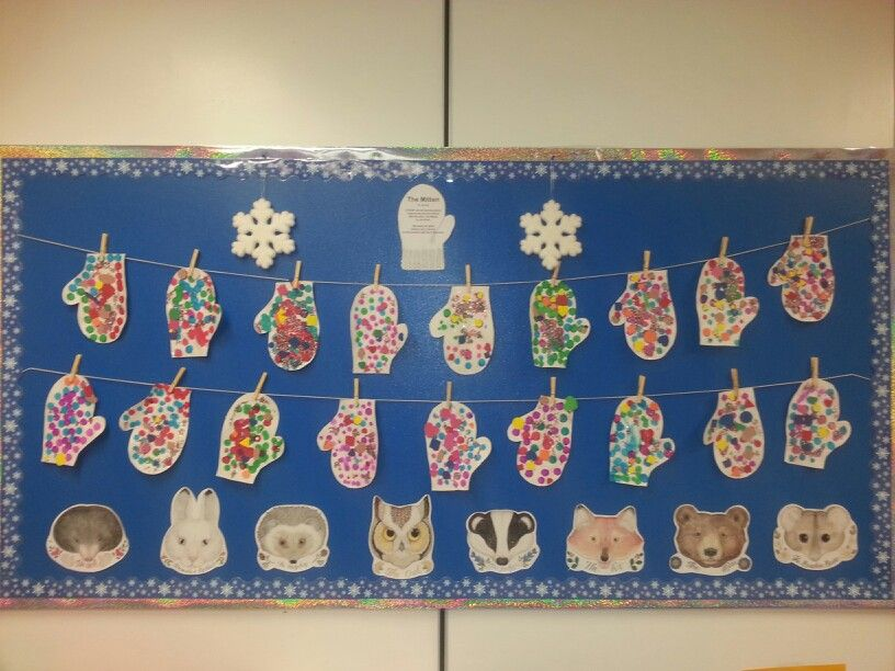 """The Mitten"" bulletin board 