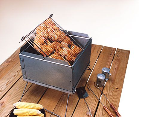 734cb016b31b4 Flip Flop Charcoal Grill Made In WI