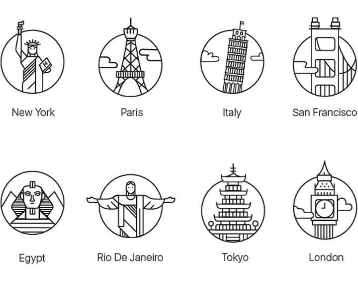 171 packs d'icônes gratuites à découvrir pour Septembre 2016   Icone gratuit, Icone, Picto