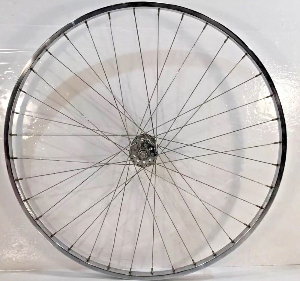 1970 Araya Bicycle 27 X 1 1 4 Front Steel Bicycle Wheel Rim