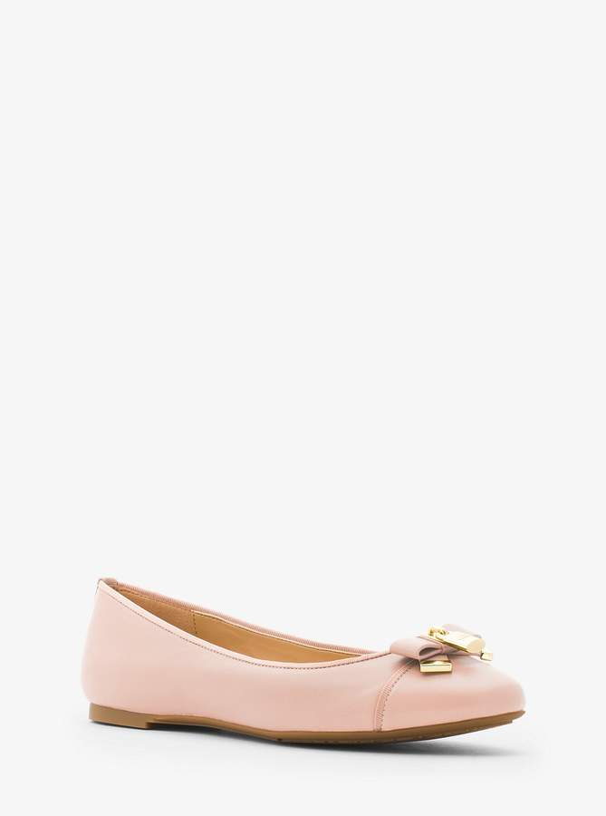 7079e7d34238 MICHAEL Michael Kors Alice Leather Ballet Flat in 2019 | Products ...
