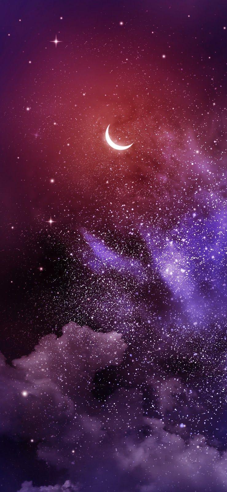 In The Night Iphone X 壁紙 スマホ壁紙 宇宙 壁紙