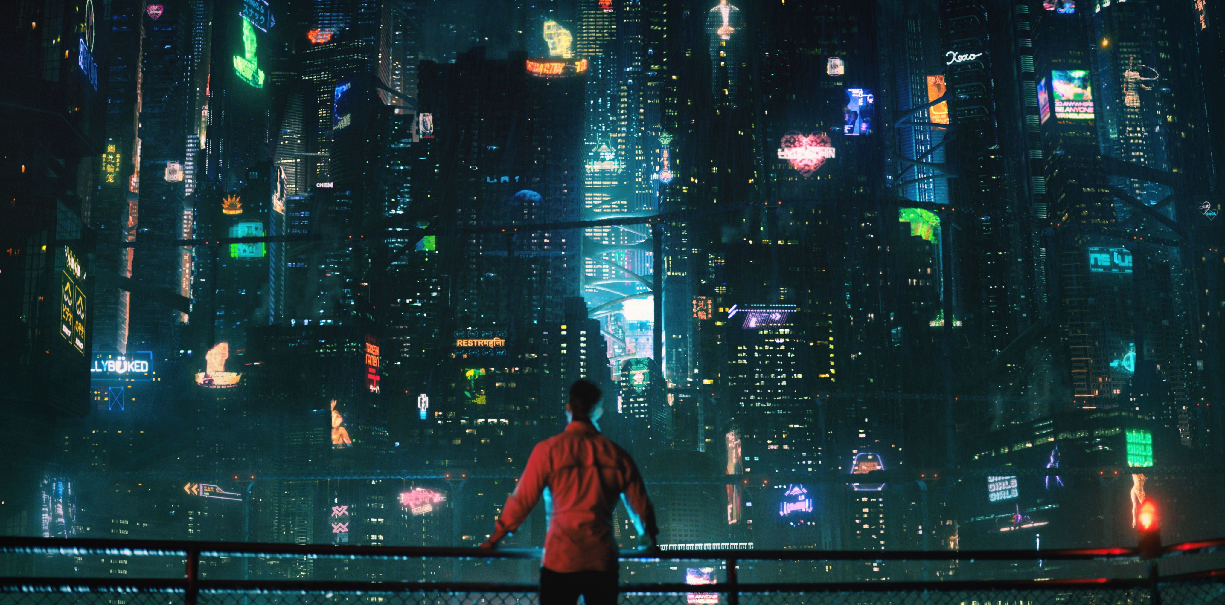 Men S Red Shirt Netflix Altered Carbon Cyberpunk City Game Boy Advance 4k Wallpaper Hdwallpaper Deskto In 2020 Altered Carbon Cyberpunk City Cyberpunk Aesthetic
