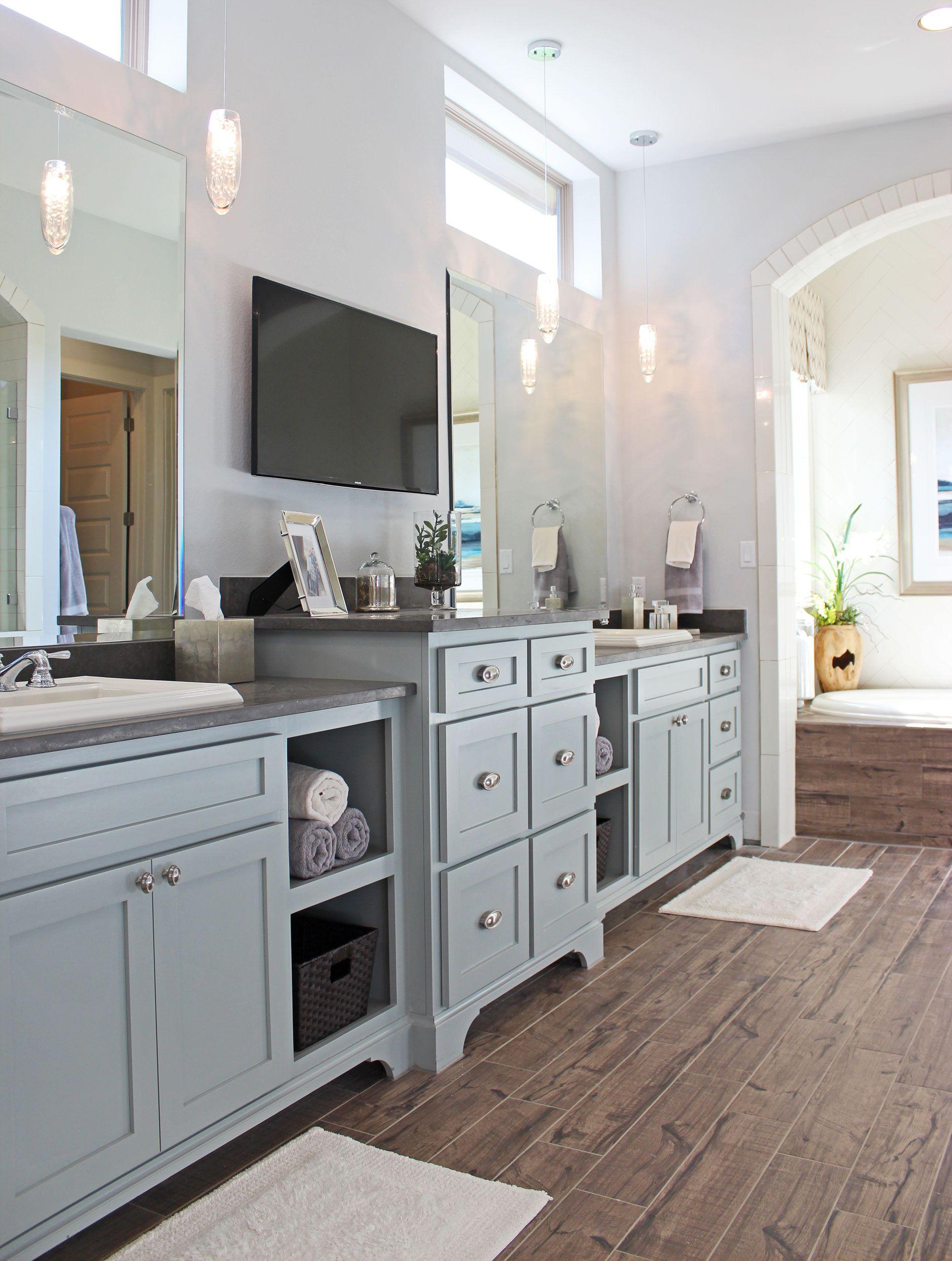 Bathroom 030 Burrows Cabinets Central Texas Builder Direct Custom