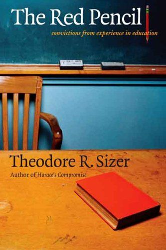 The Red Pencil: Convictions from Experience in Education by Theodore R. Sizer http://www.amazon.com/dp/0300109776/ref=cm_sw_r_pi_dp_v9F6ub04WDEBT