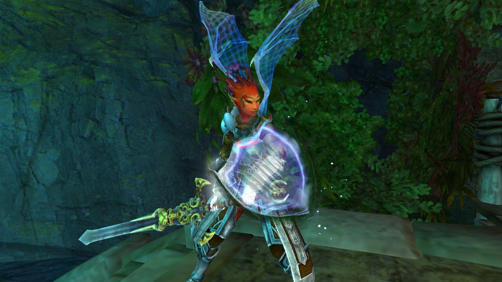 Name: Weaping Rose Race: Sylvari Class: Guardian | My Guild Wars 2