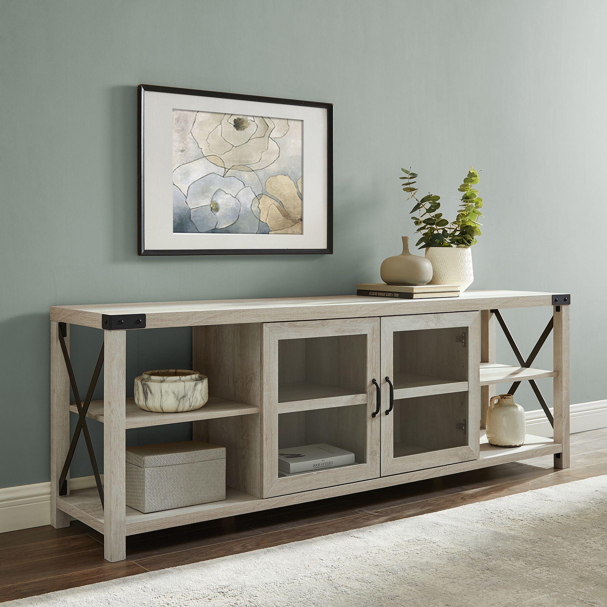 Free 2day shipping buy magnolia 70 2door white oak tv