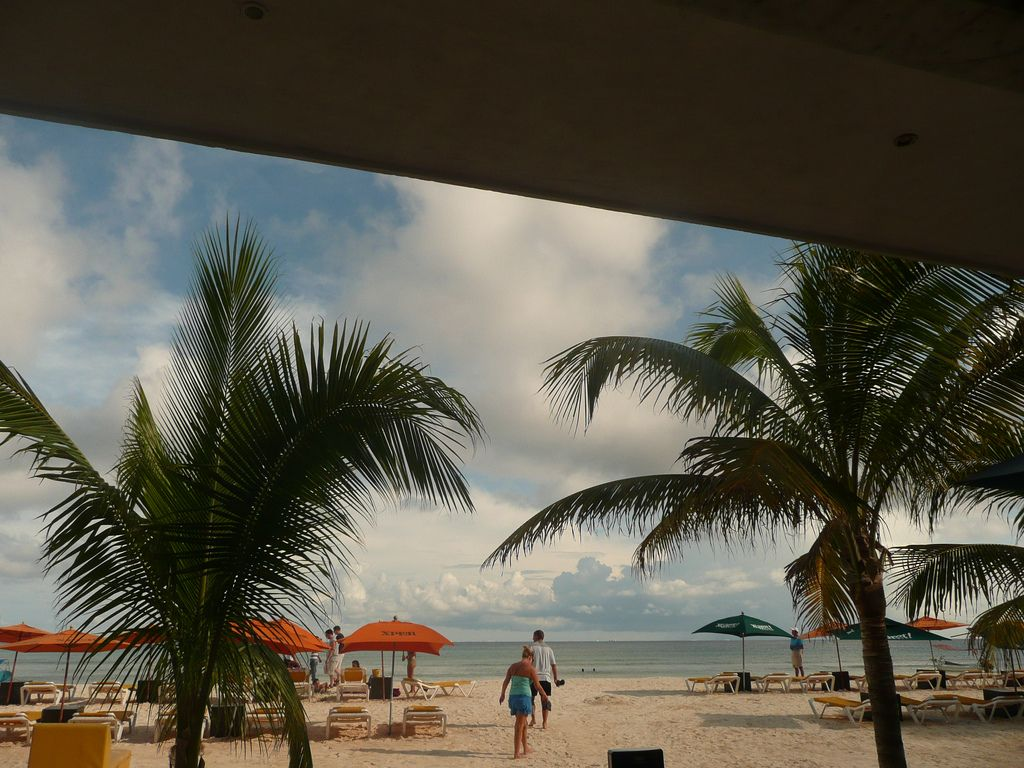 https://flic.kr/s/aHsjxbvDVM | Coco Beach, Playa del Carmen