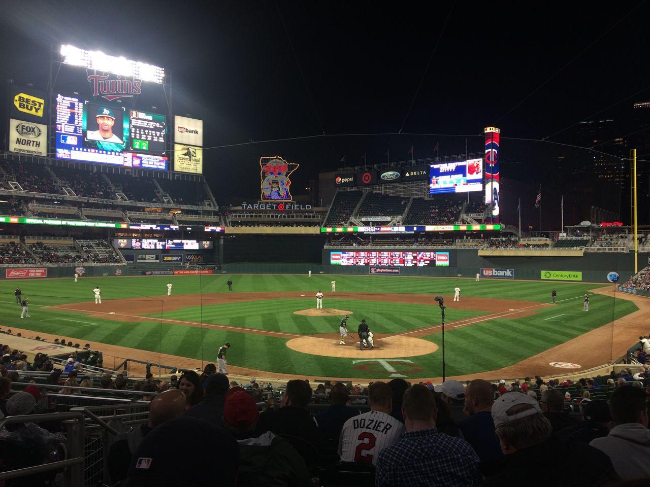 Twins Baseball Game May 2017 Twins Baseball Baseball Field Baseball