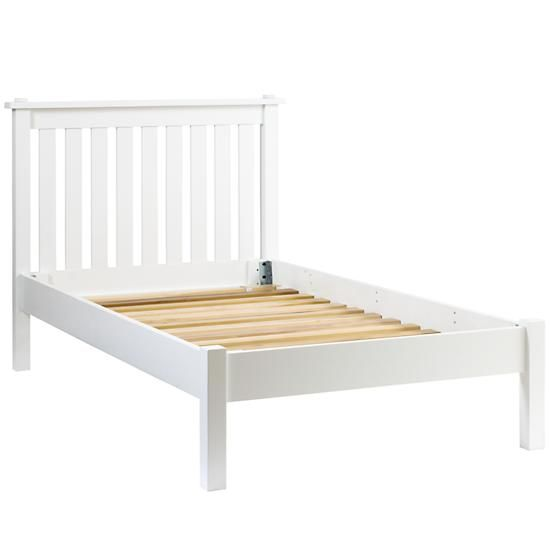 Simple White Twin Bed White Bed Frame Headboards For Beds