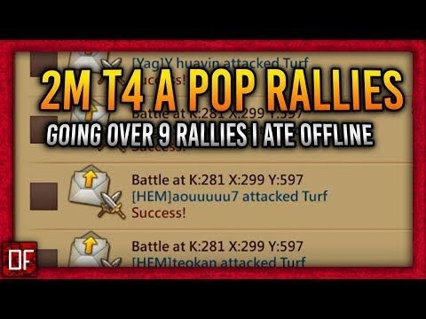 I don't know how, but I ate 9 rallies while I was offline