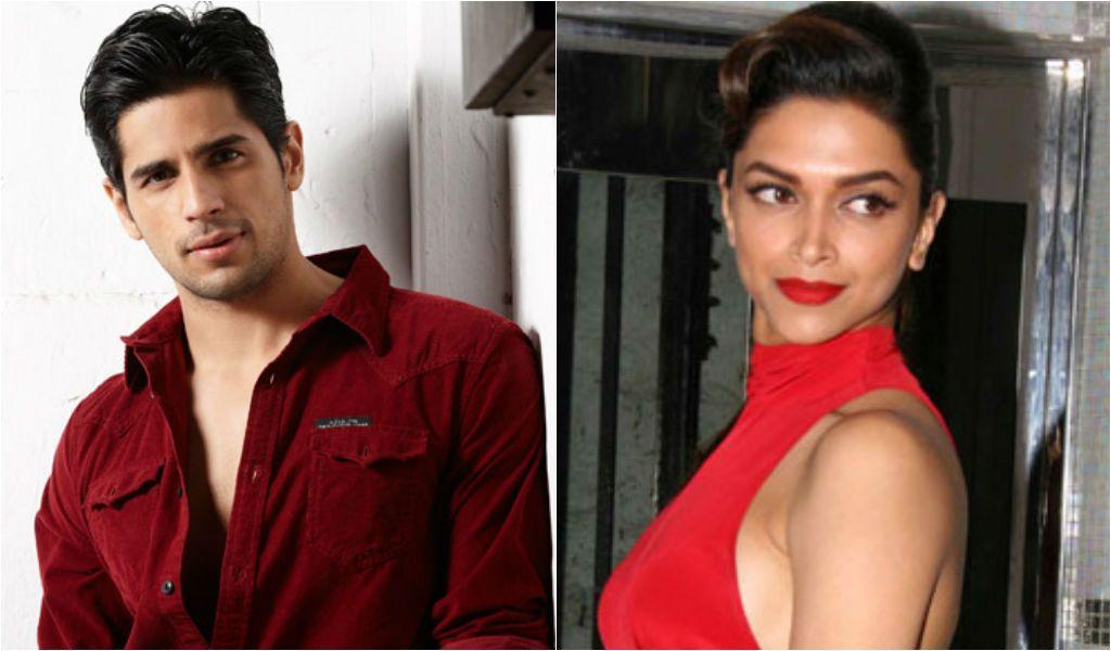 I will enjoy kissing Deepika Padukone says Siddharth ...