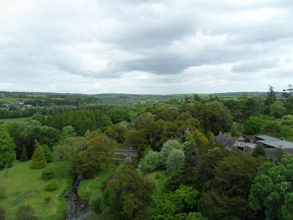Countryside from Top O' Blarney Castle, Ireland