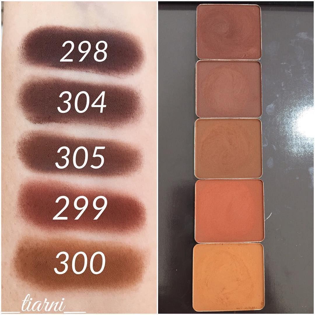 298, 304, 305, 299, 300 Inglot eyeshadow, Eyeshadow, Inglot