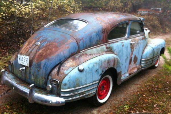 1947 Chevrolet Fleetline Aerosedan Chevrolet Vintage Cars