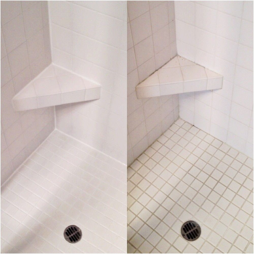 how to regrout a shower stall
