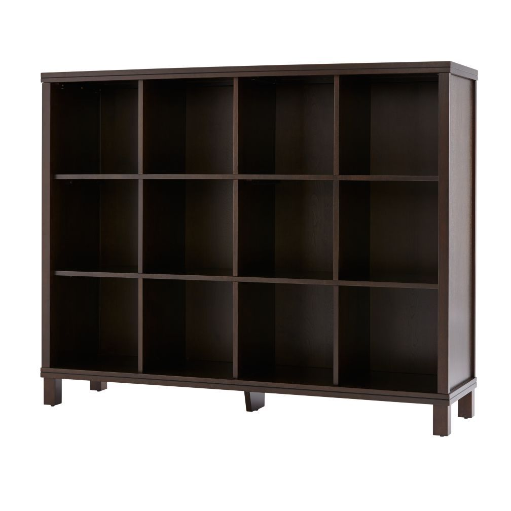 Cubic Tall Bookcase Java 12 Cube The Land Of Nod Bookcase