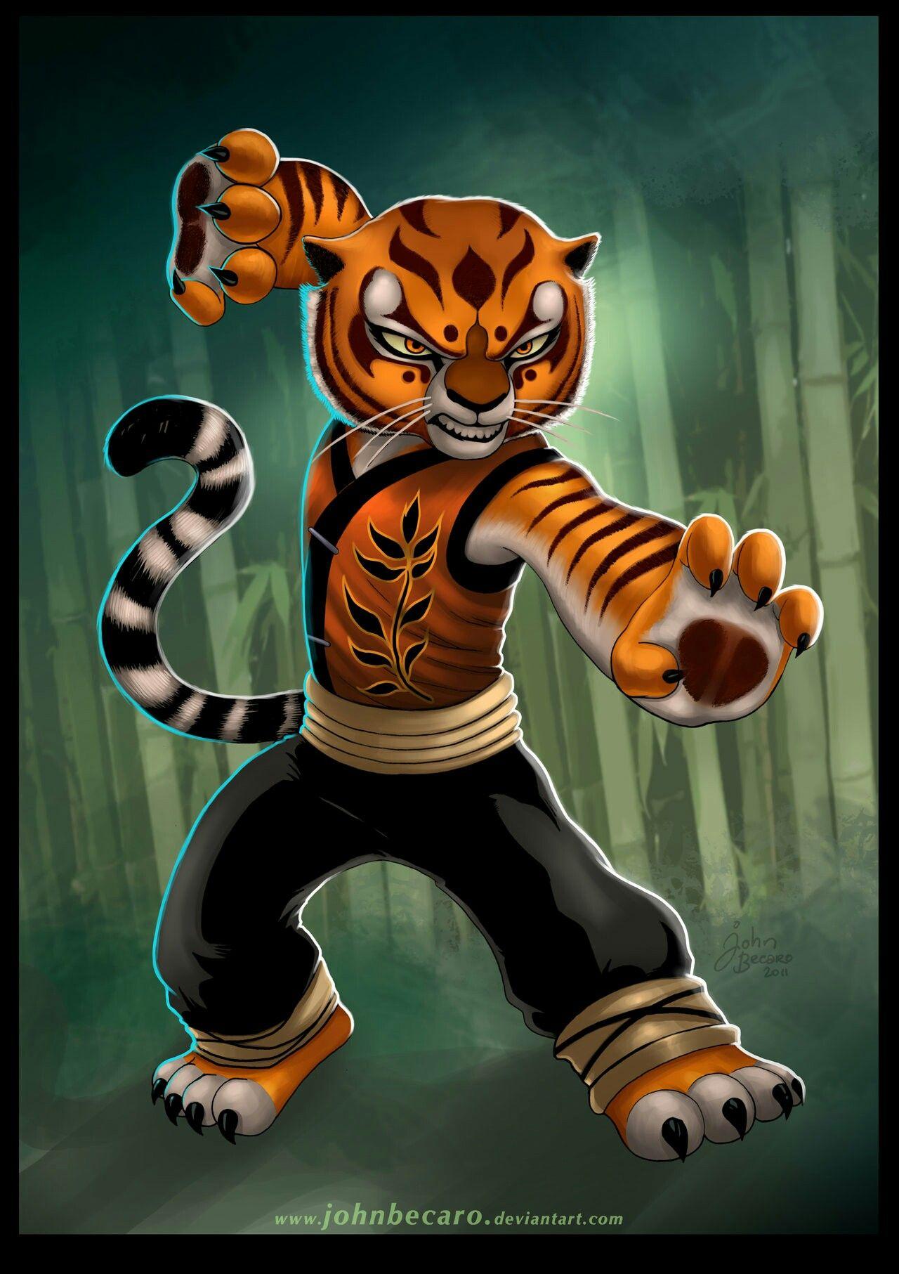 TIGRESS-KUNG FU PANDA (Fan Art) | Tigress kung fu panda
