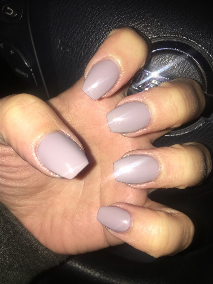Short coffin shape | Nails | Pinterest | Nail inspo and Makeup
